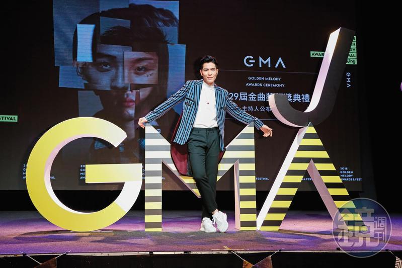 23日將受邀擔任金曲獎頒獎典禮主持人,蕭敬騰從昔日的「省話一哥」,已經變得妙語如珠、幽默風趣。