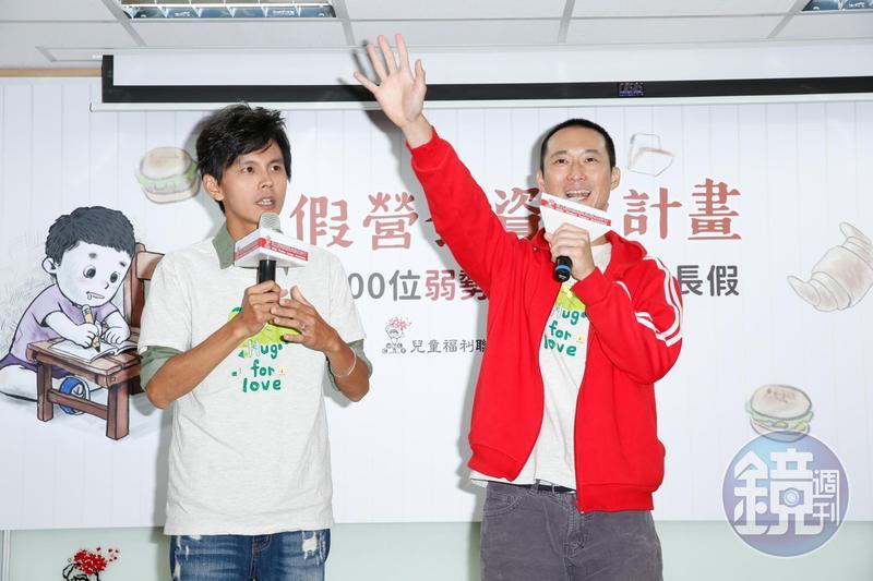阿翔(左)被追稅200萬補繳中,浩子自嘲去年沒收入所以不用補稅。