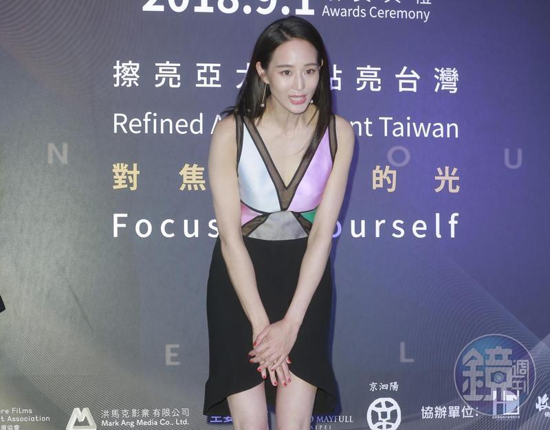久未有國片新作的張鈞甯為本屆亞太影展擔任大使,她表示很榮幸能為台灣電影圈出一分力。