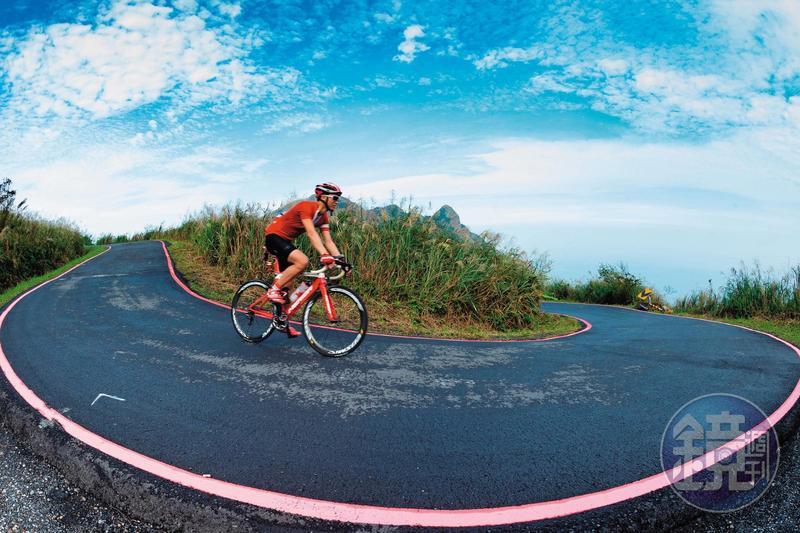 往茶壺山的道路,單車族喜好來此馳騁。