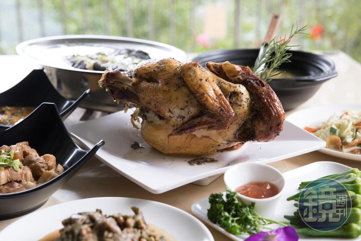 住房更提供8菜1湯的豐富菜色,千萬不可錯過。(隨季節更換)