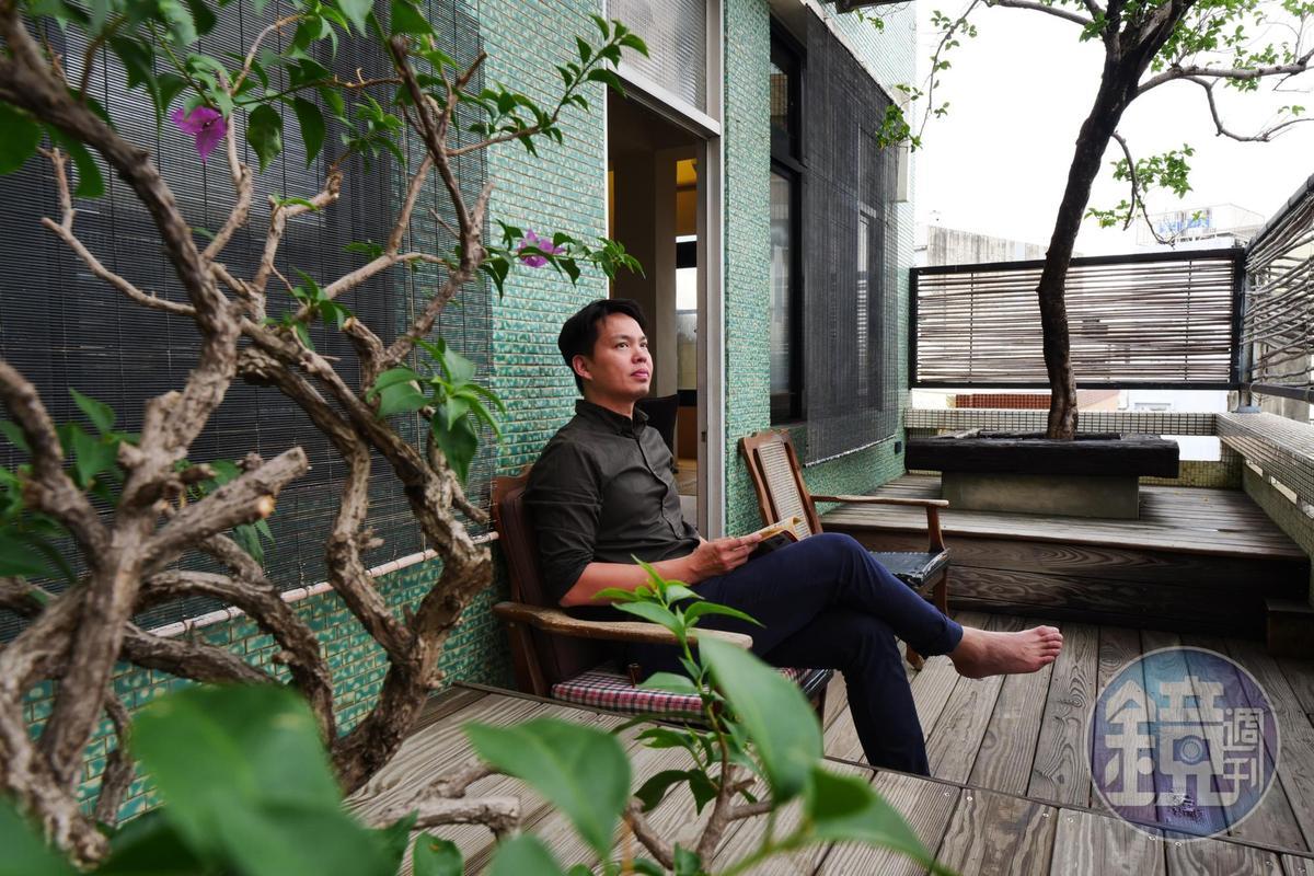 謝小五為家族老屋注入新生命,希望更多人看見老房子的價值。