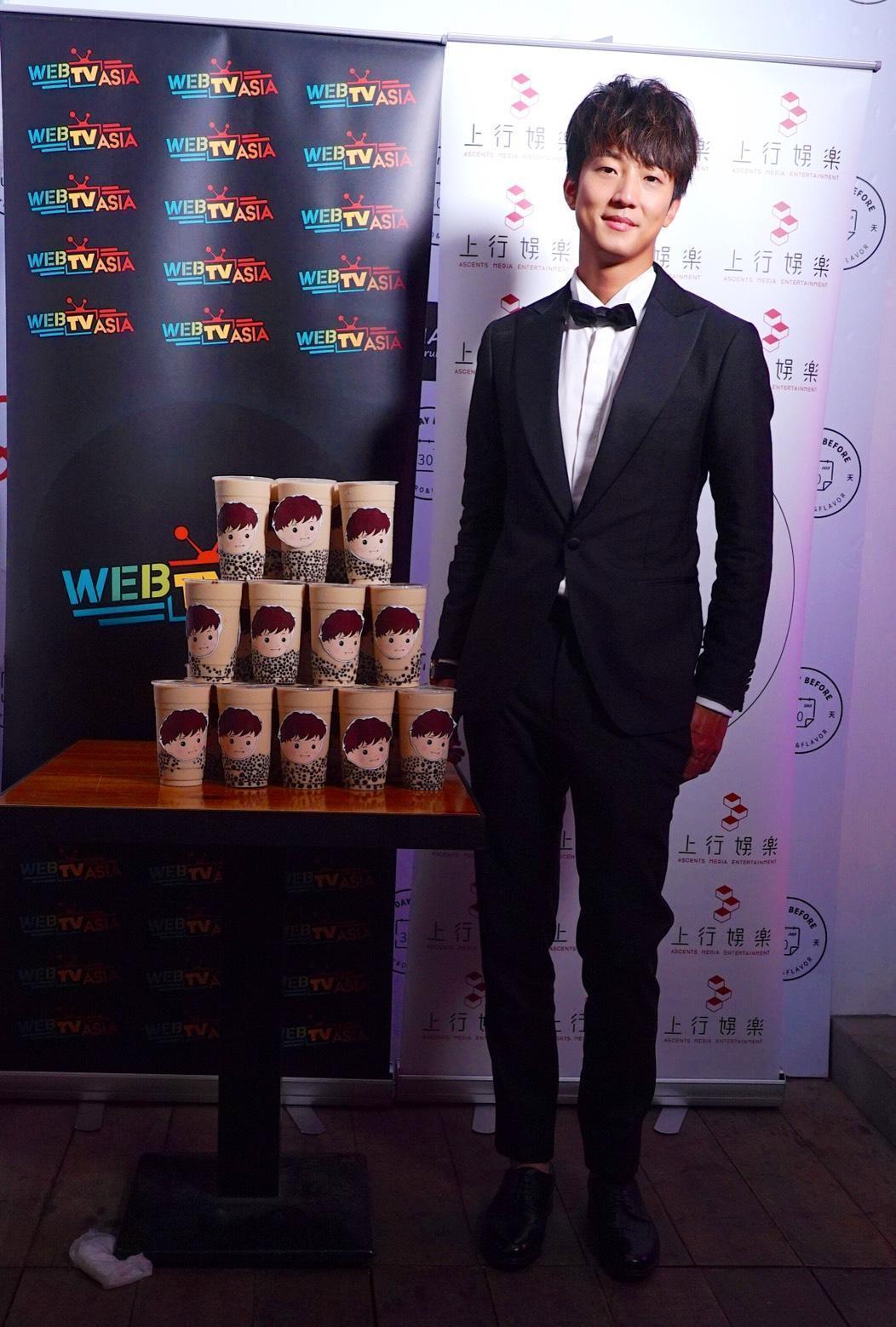許書豪是本屆歌王入圍者中的新鮮面孔,雖沒得獎但知名度因此大開。(上行娛樂提供)