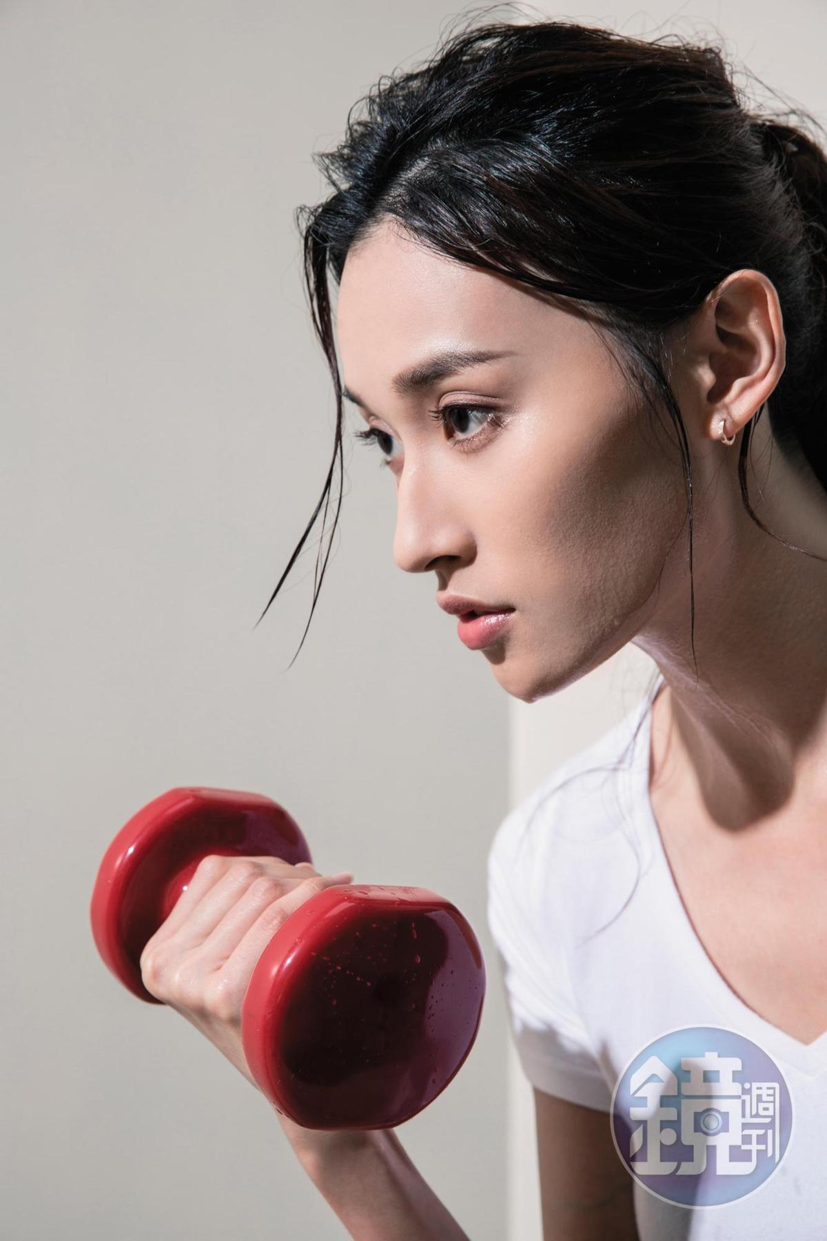 去健身房當然是要走偽素顏路線呀!