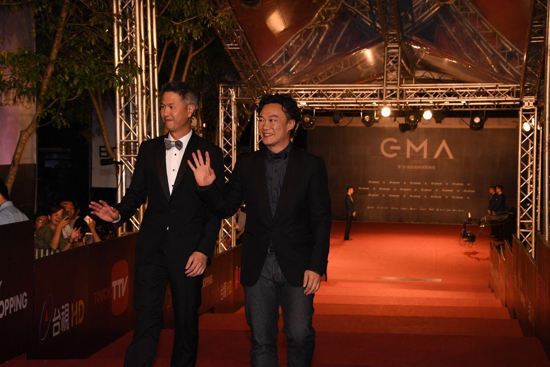 本屆金曲歌王陳奕迅在星光大道前4高收視率中佔了3個席次魅力驚人。(台視提供)