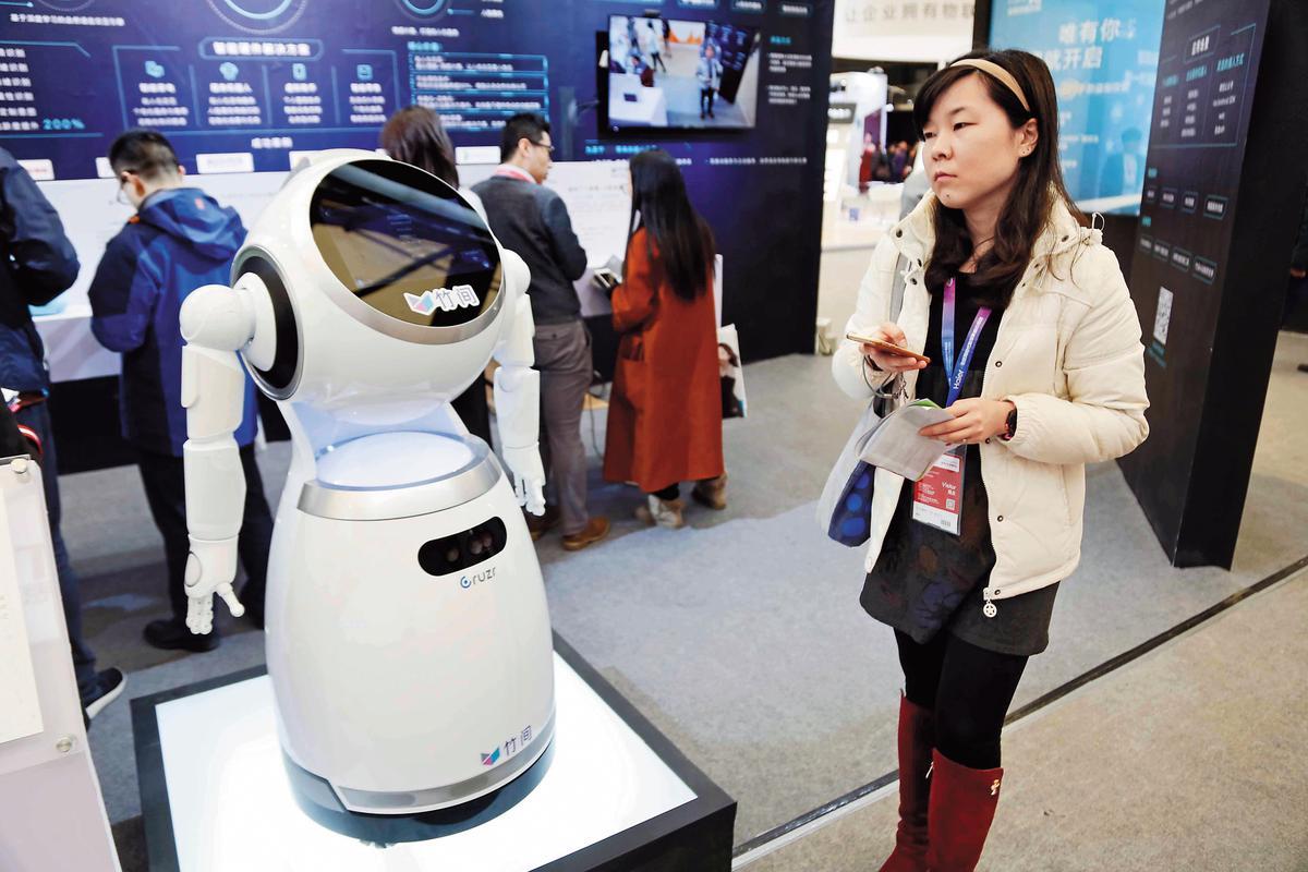 電動車及機器零組件是中國從美國進口的重要商品之一。(東方IC)