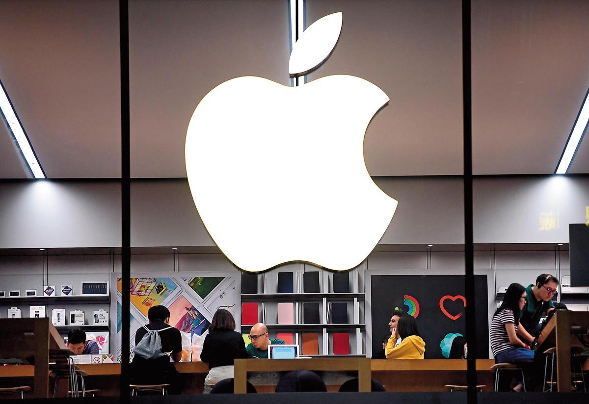 貿易戰若持續惡化,下一波受牽連的恐是在中國經營的美國大型企業,如蘋果、星巴克。(東方IC)