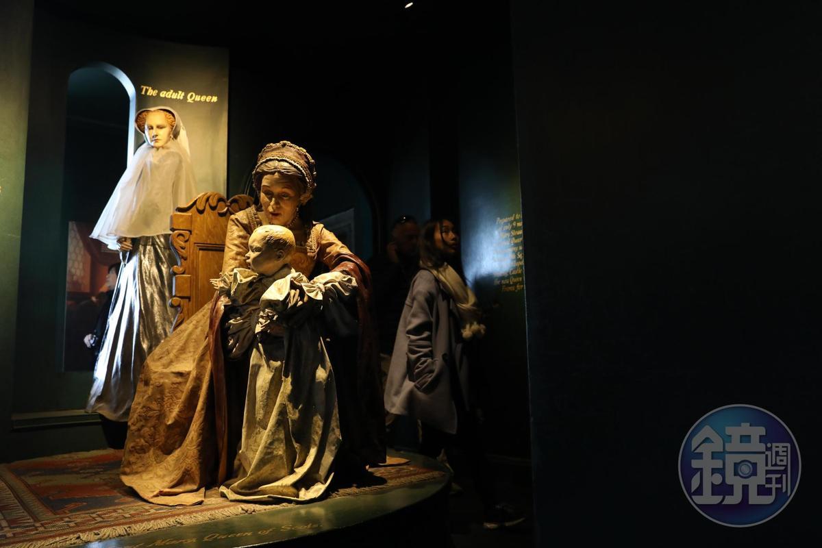 蘇格蘭的瑪麗女王曾在城堡中生下詹姆士六世。