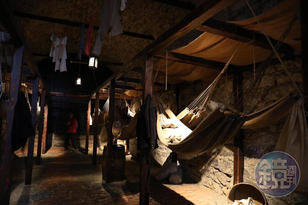 據說1811年曾有49名戰俘挖洞逃亡成功。
