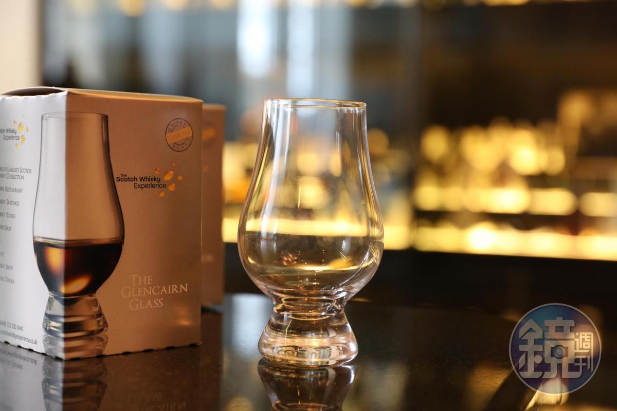 體驗旅程結束,可獲得一個威士忌酒杯當紀念。