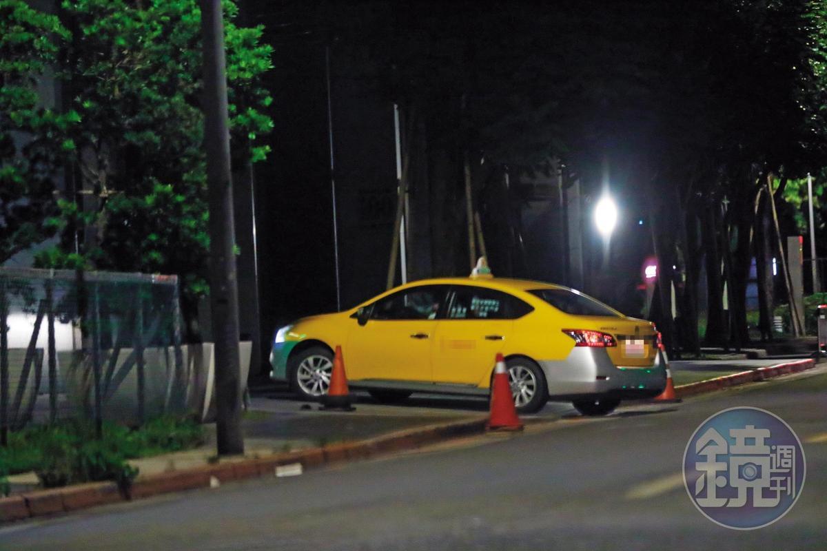 6月14日01:50計程車將兩人載往楊晨熙位於內湖的新家,該社區住戶還有吳宗憲。