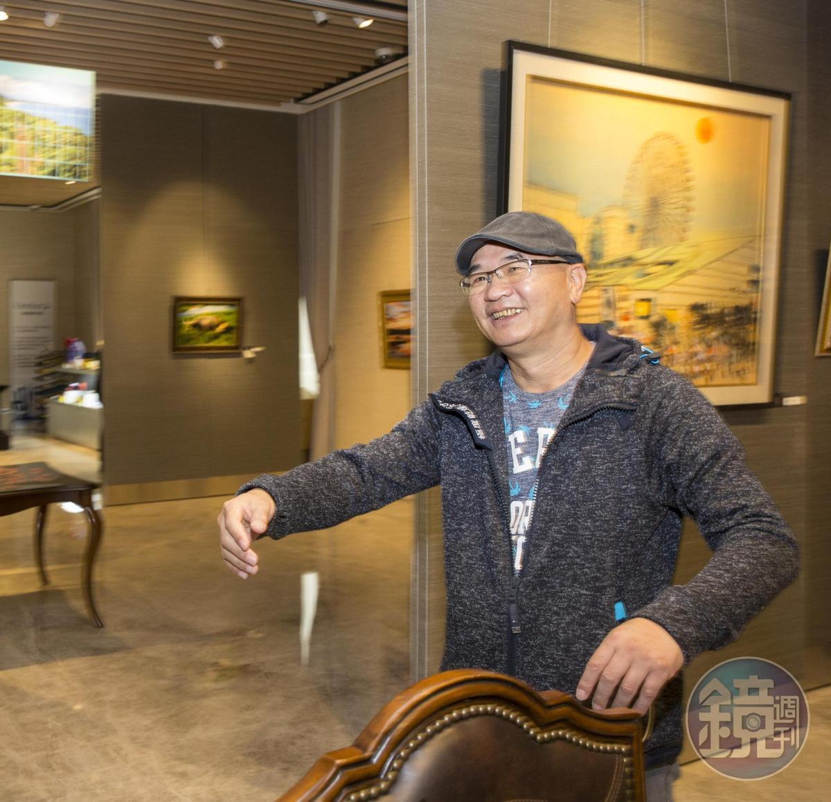 美麗華創辦人黃杏中么子、黃世杰的堂哥黃憲文(圖)表示,黃世杰將影城編制都編在自己的投資公司,美麗華娛樂等於是被架空。