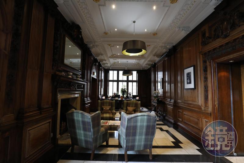 已有200年歷史的「The Scotsman Hotel」是間很有味道的酒店,大廳擺的是格紋沙發,不算華麗,勝在典雅。