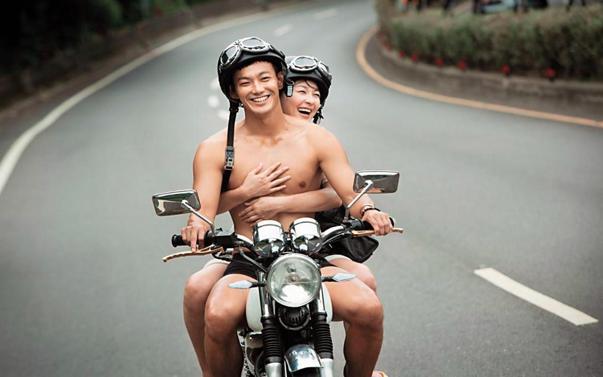 卓君澤曾開出理想男友條件是「喜歡健身、有一些肌肉」,身材精實的威廉剛好符合。(緯來提供)