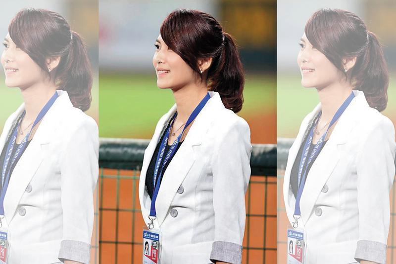 卓君澤現身日本西武球場舉行的台灣日活動,被日本媒體評為「超美人主播」。(翻攝自卓君澤臉書)