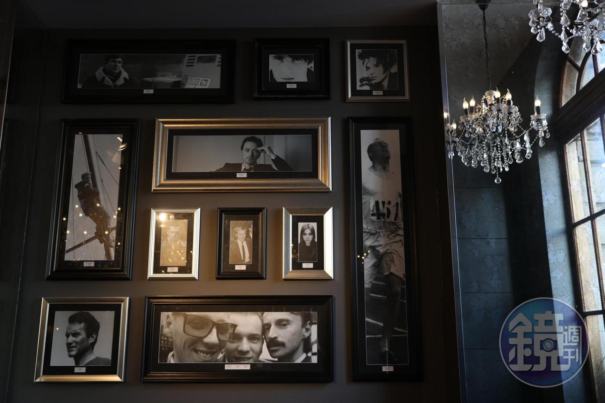 The Angel's Share的大廳也高掛令蘇格蘭人驕傲的名人照片牆。