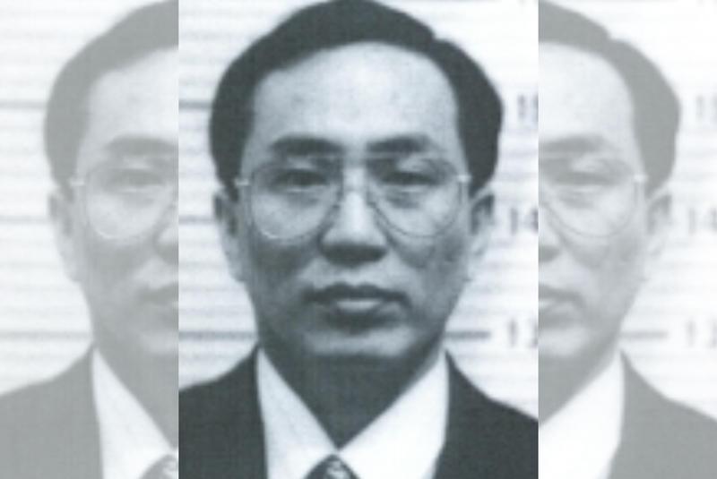 黃偉建長相斯文,行徑卻相當兇殘,屢犯殺人案。(翻攝刑事局網頁)