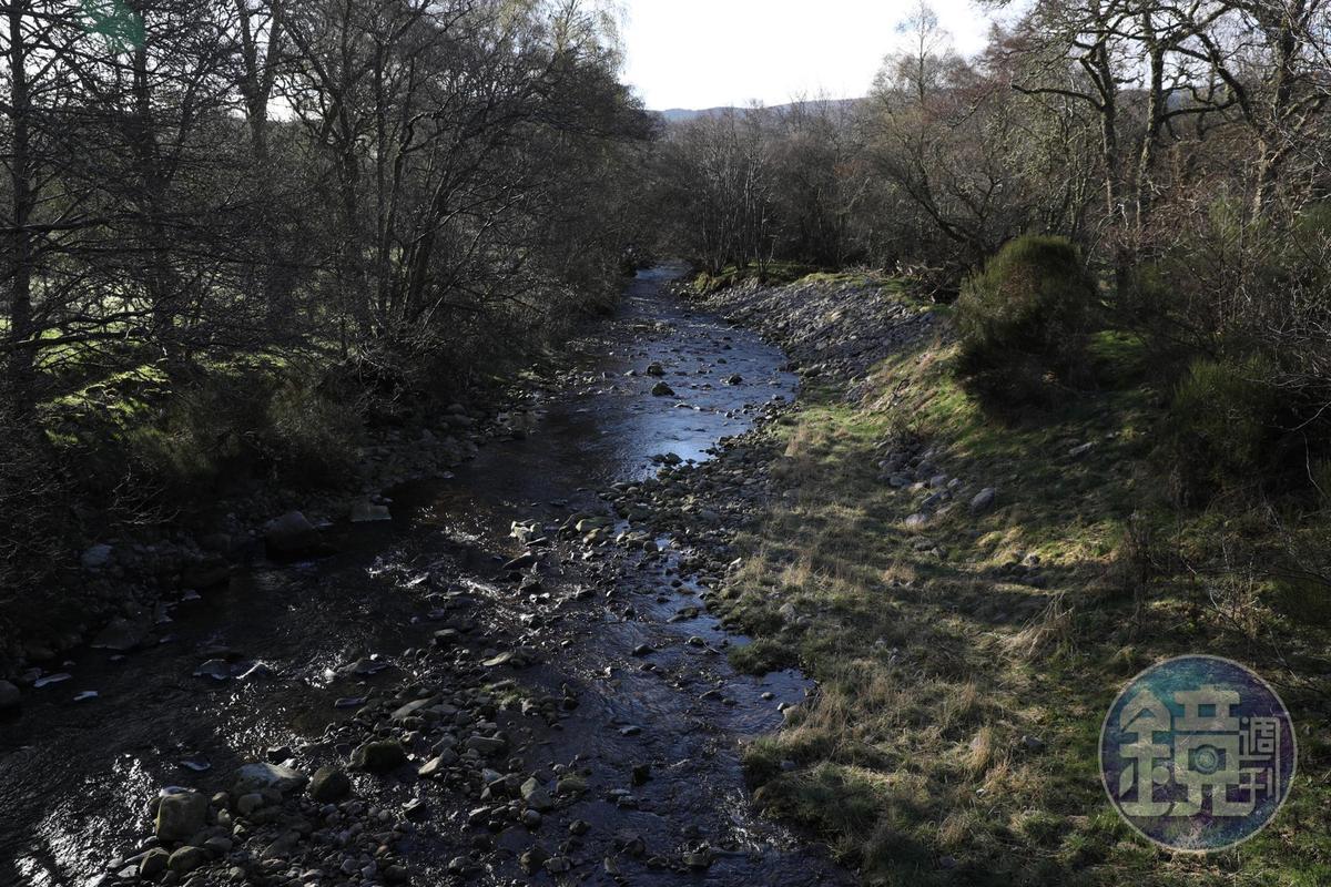 斯貝河有許多大小支流,沿著河谷走,風光無限。