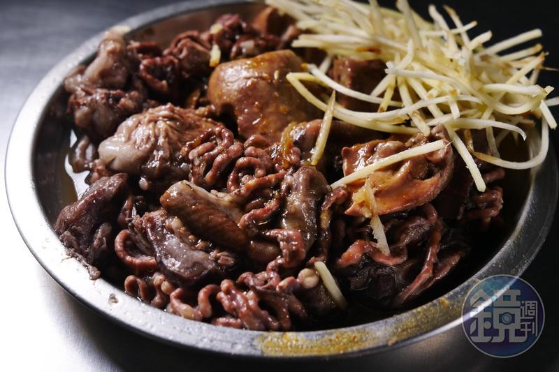 虱目魚腸是南部人最愛的異形美食。