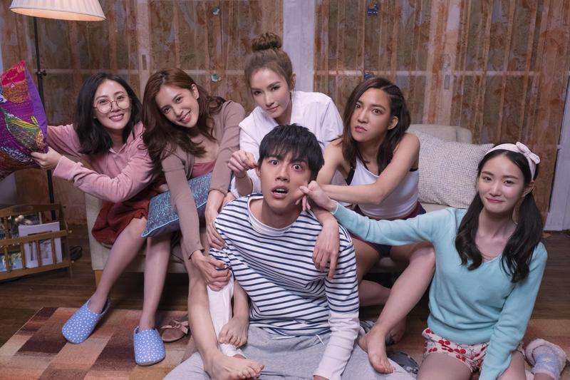蔡凡熙在戲中被5位姊姊「疼愛」。(群星瑞智提供)