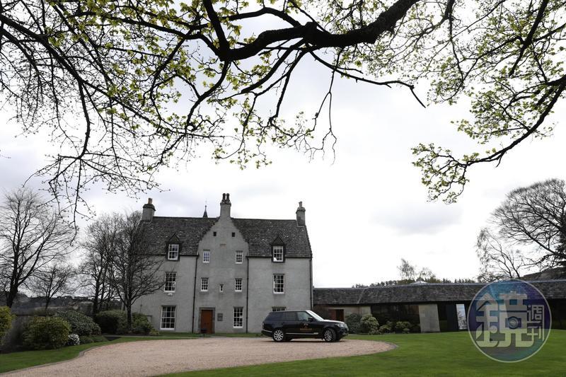 西元1700年落成的「Easter Elchies House」,是歷史悠久的莊園,也是麥卡倫的精神指標。