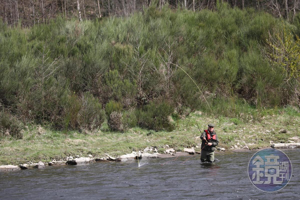 釣魚是蘇格蘭人最熱中的休閒活動,斯貝河是他們最愛的天然釣場。