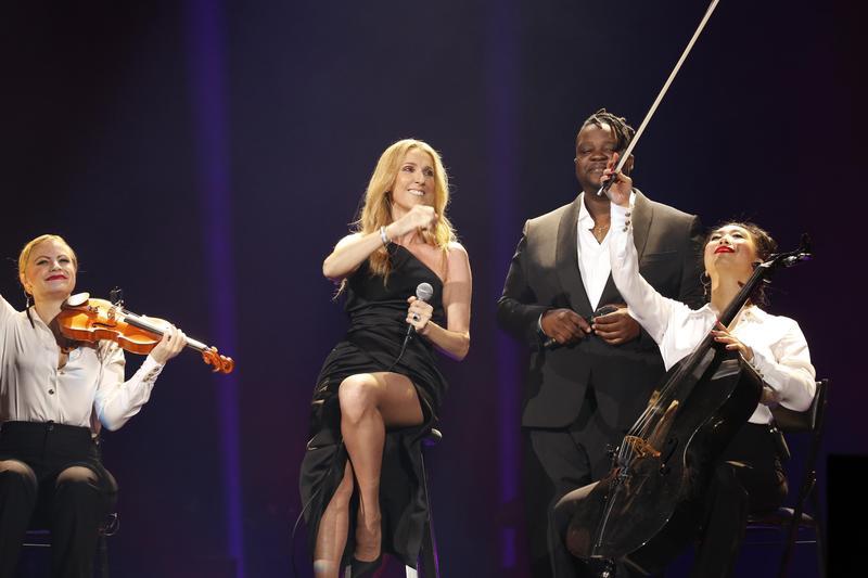 席琳狄翁東京開唱,為亞太區巡演揭開序幕。(寬宏提供)