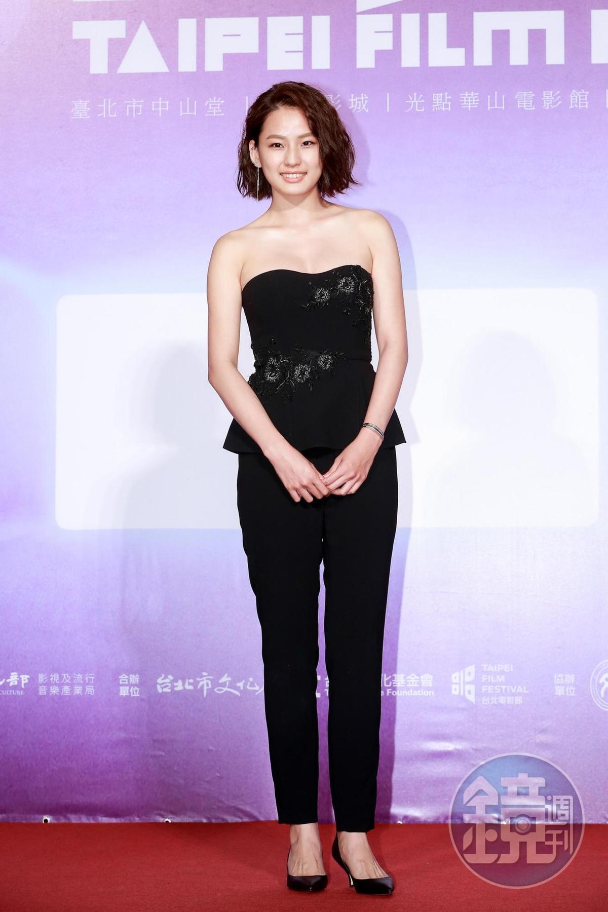 陳向熙在《范保德》片中讓好多男生都為她暈船了。