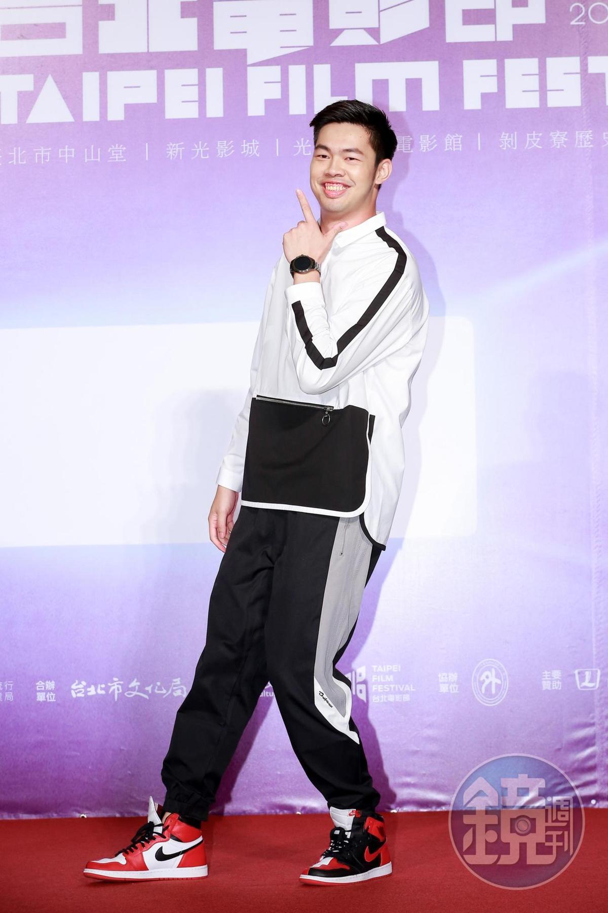 陳大天在《范保德》是龍劭華的兒子,但他卻跟古斌有最多的對手戲。