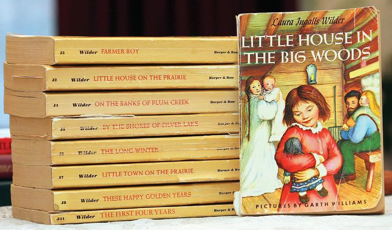羅蘭的《小木屋》系列被視為童書經典。( 東方IC)