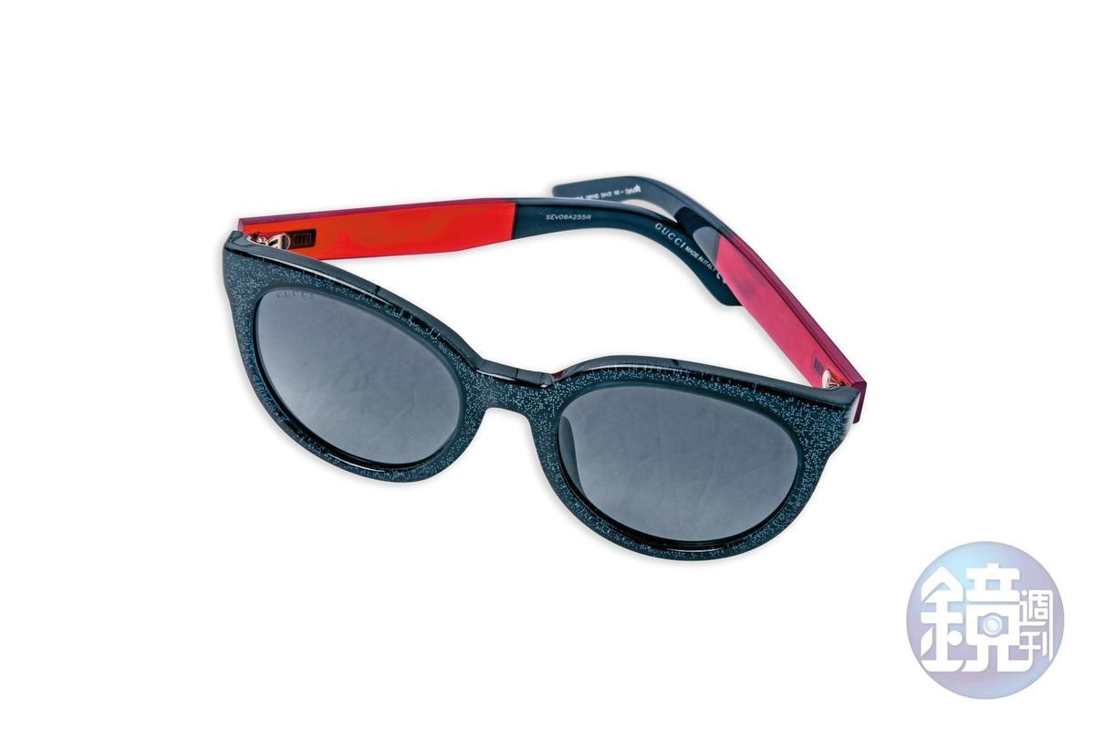 GUCCI墨鏡,約NT$12,000。