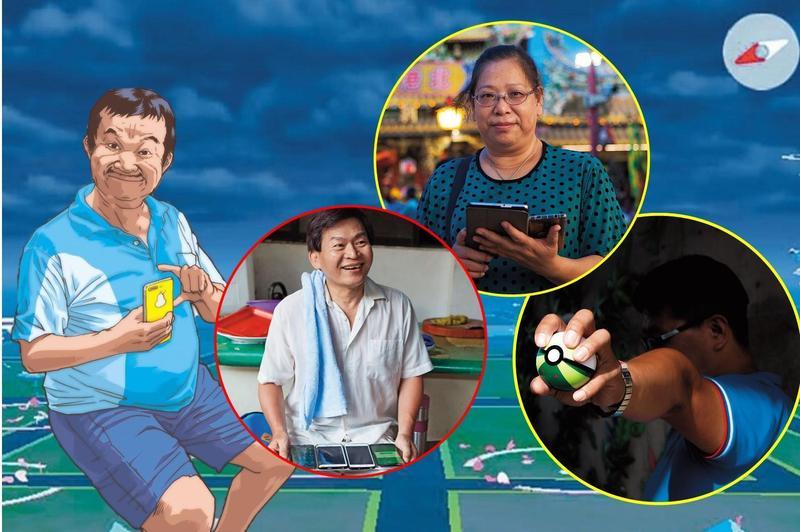 陳清敏生前照片很少。今年2月他因罹癌離世,許多寶友不捨,便到《精靈寶可夢GO》遊戲中各補給站,撒櫻花紀念他。