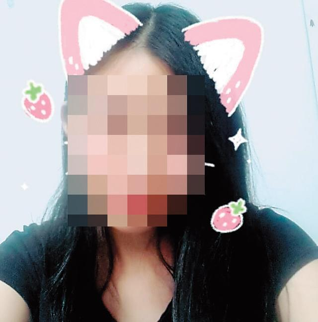 臉書上為自己取動漫名稱的林姓少女,在留下遺書後香消玉殞。(讀者提供)