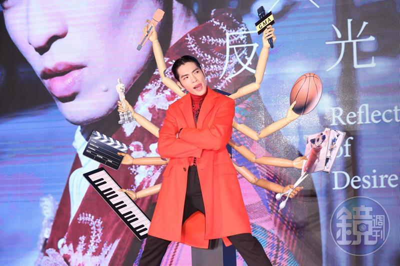 蕭敬騰時隔4年,再推新專輯《欲望反光》。