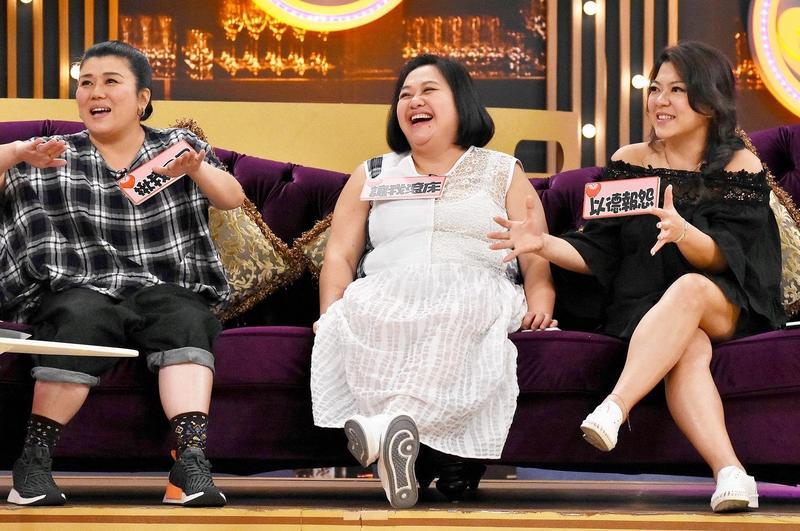 林美秀(左起)、鍾欣凌、杜詩梅3人感情好趣事也多。(衛視中文台提供)