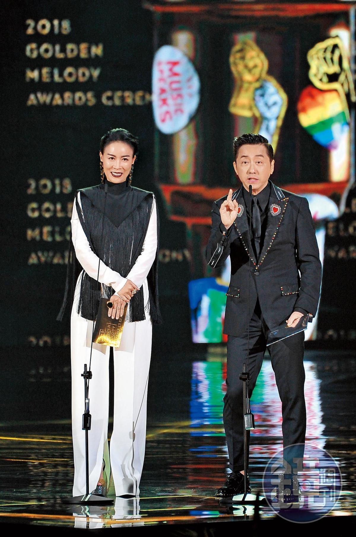 最近哈林一次出席公開活動,就是金曲獎的頒獎典禮,他與那英搭檔頒獎,結果反應兩極。