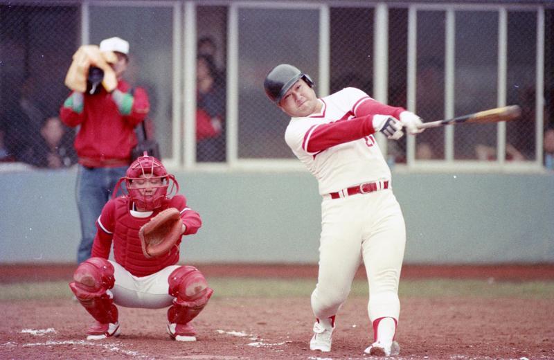 趙士強在一九八三年的亞錦賽中擊出全壘打,將台灣送進洛杉磯奧運,這場比賽至今仍讓球迷難忘。(聯合知識庫)