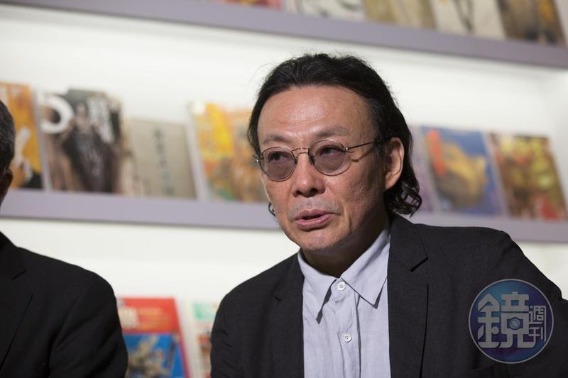 鄭問是影響王欣太最深的漫畫家,《蒼天航路》就是向鄭問致敬的作品。