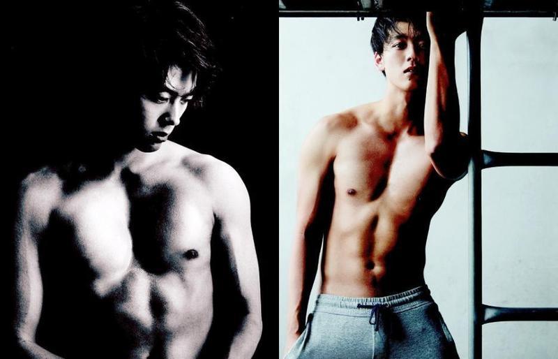 日本男星竹內涼真在日雜《ANAN》展現結實身材。(翻攝自網路)