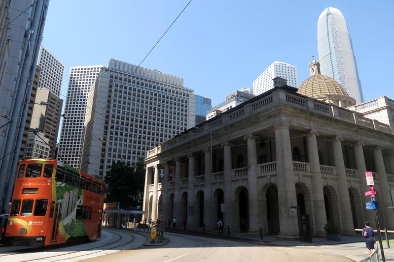 香港終審法院4日做出里程碑式的裁決,同性婚姻配偶也有權在港享有居留和工作權,圖為終審法院外觀(東方IC)