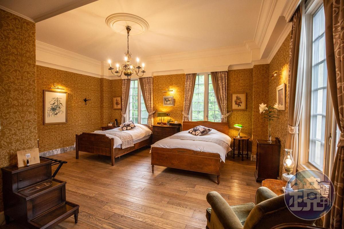 入住「雪雲城堡」的客房,彷彿置身歐洲有歷史的老飯店,又兼具舒適感。