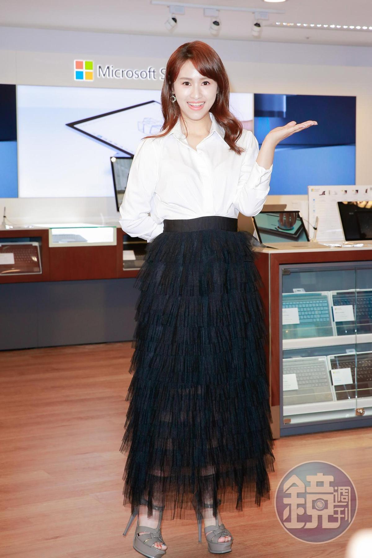爸爸吳宗憲演唱會與多人同日對打,Sandy吳姍儒說自己目前「以不上台為原則」,但她其實最想去陳曉東演唱會。