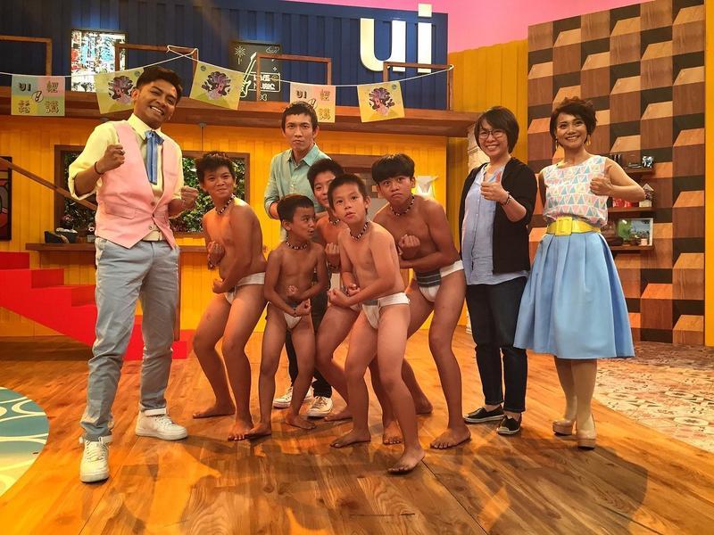 黃尚禾日前與劇組上原視節目《ui輕鬆講》宣傳電影,分享自己曾為該片當過一個月的實習老師的有趣經驗。