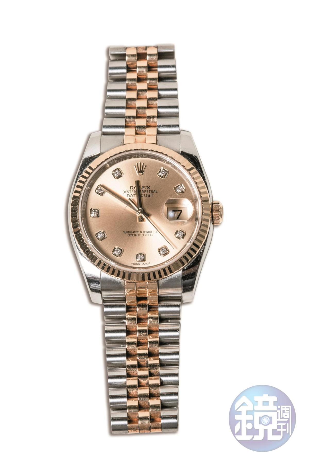 ROLEX手錶,老公贈送。