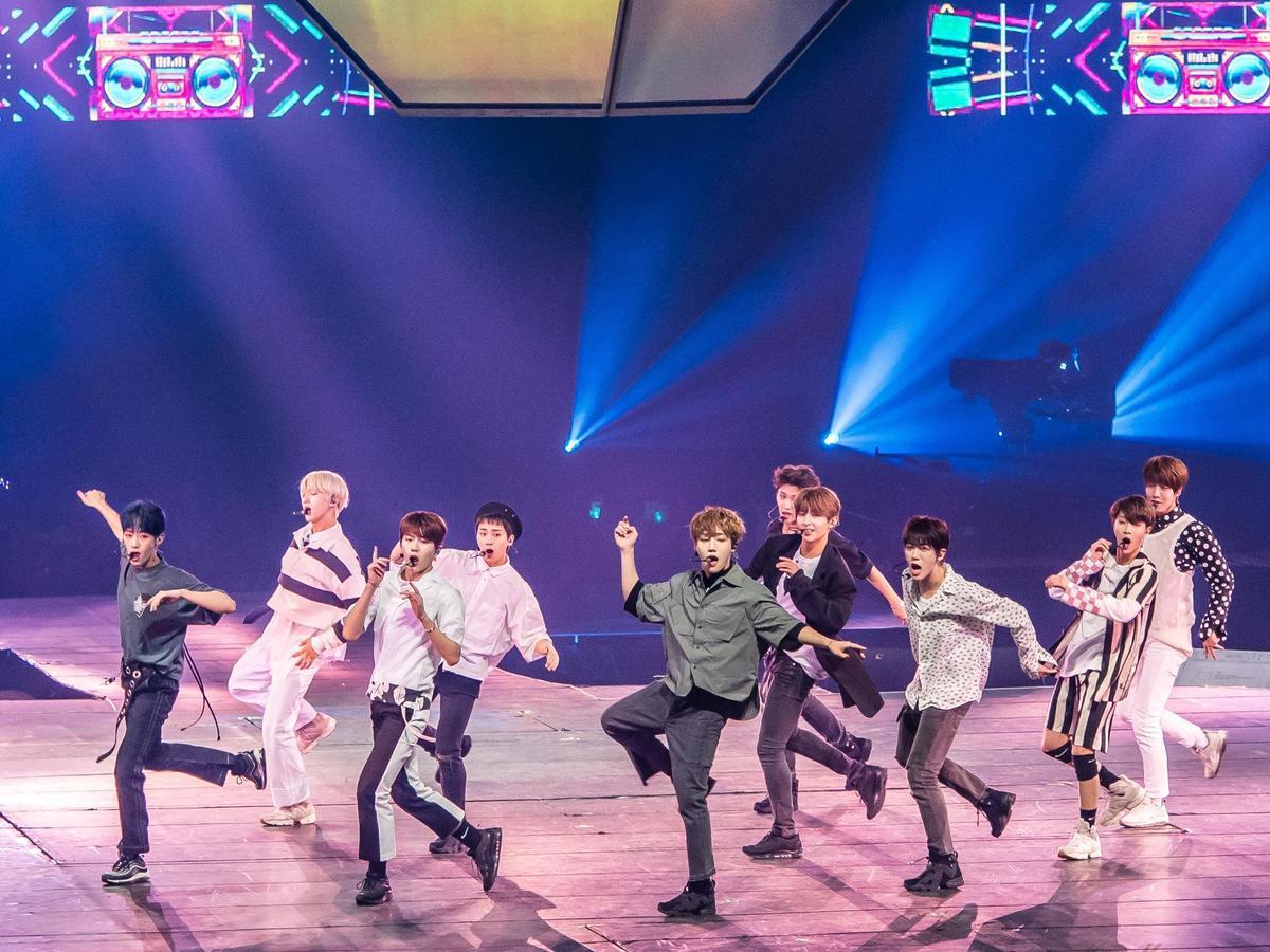 Golden Child將新歌〈LET ME〉首唱獻給台灣粉絲。(寬宏藝術/CJ E&M提供)