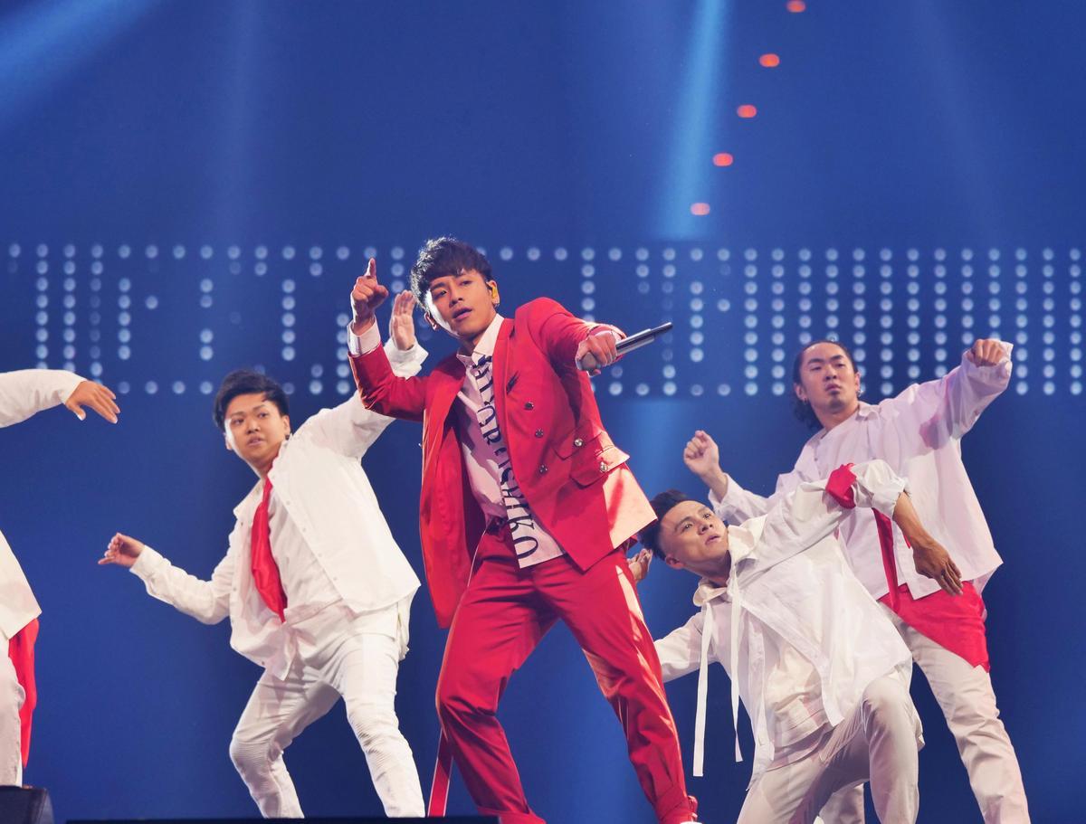 鼓鼓特地重新編舞,在《MCountdown in Taipei》給大家耳目一新感受。(CJ E&M提供)