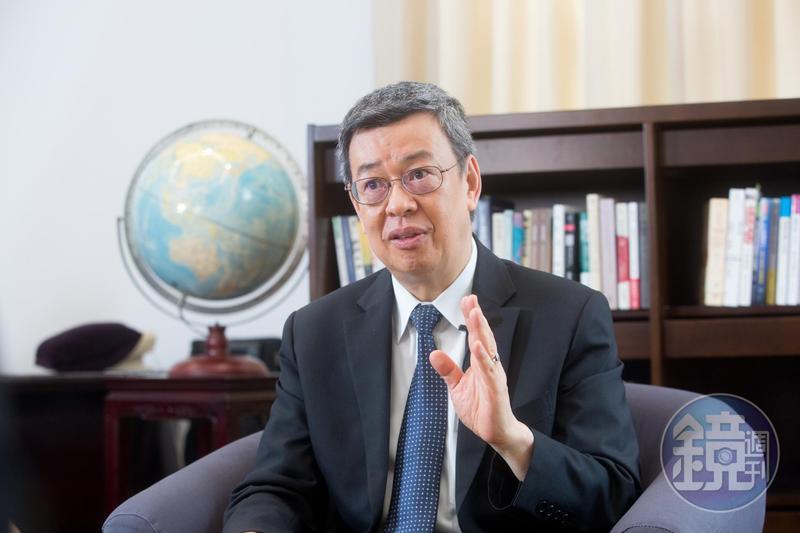 陳建仁說從政就是不計個人毀譽,當人民公僕。