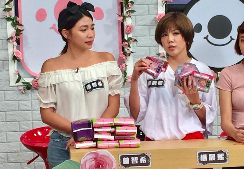 楊晨熙(左)喜歡囤積護唇膏口紅,還有專門為了去前男友婚禮專用,令人傻眼。(17Media提供)
