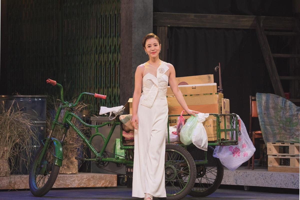 丁噹主演的音樂劇《搭錯車》將於7日在台中首演,為期4個月的魔鬼訓練將一次展現。(相信音樂提供)