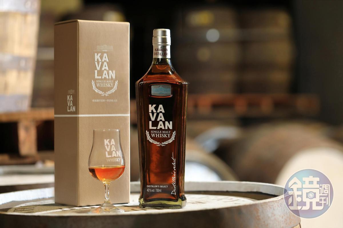 為了讓更多消費者都能品嘗噶瑪蘭威士忌,品牌推出入門款珍選單一麥芽威士忌。(1,000元/700ML)